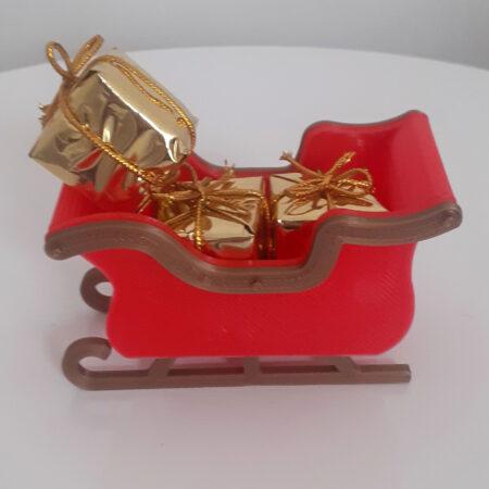 Trineo navideño