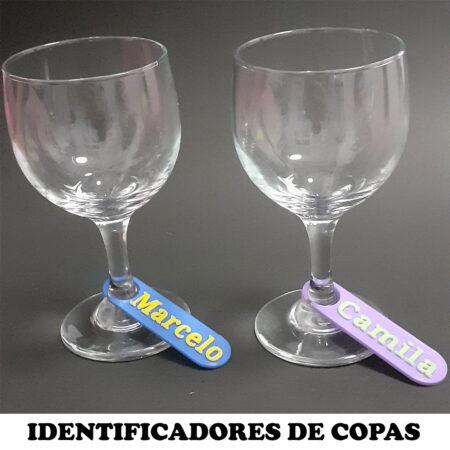 Identificadores de copas personalizados