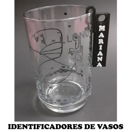 Identificadores de vasos personalizados